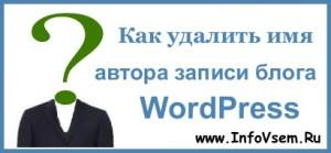 author ,hide, wordpress