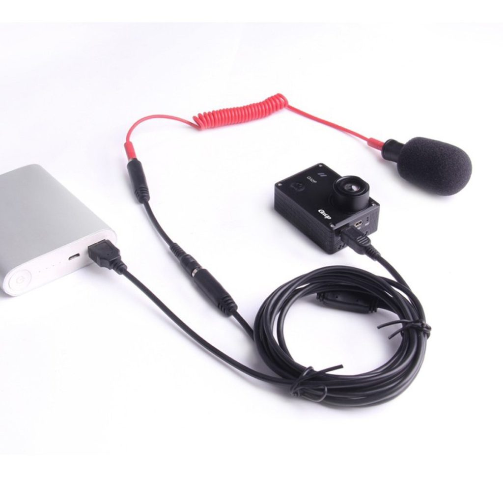 кабель питания USB экшен камеры